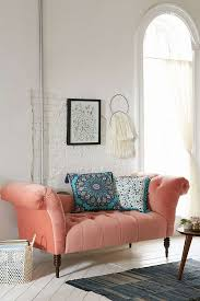Sofa Pink by Antoinette Fainting Sofa Coral Urban Outfitters