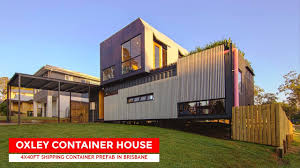 100 Shipping Container Homes Brisbane Oxley House 4 X 40ft Prefab