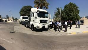 100 Truck And Bus Dubai Police And MAN Team Up On Road Safety Transport