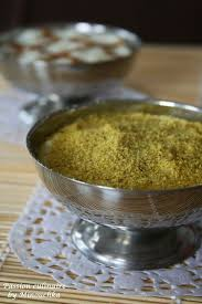 poudre de riz cuisine m halbi ou mouhallabieh entremet à la poudre de riz