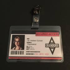 Long Halloween Batman Pdf by Harley Quinn Batman Arkham Asylum Name Tag Id Badge Clip Prop