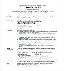 Resume Format For Engineering Student It Sample Jobs Examples College Students Computer Science