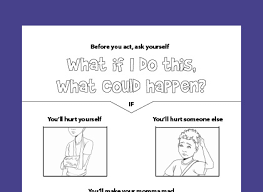 Free Printable Colouring Page For Teaching Responsibility Respect And Self Control