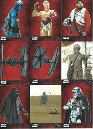 2015 topps wars the awakens wars base cards yours