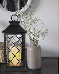 garten wohnzimmer deko le mit flammeneffekt eaxus 2x