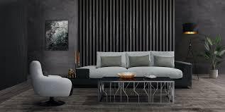 casa padrino luxus wohnzimmer sofa mit dekorativen kissen hellgrau schwarz 337 x 100 x h 57 cm luxus wohnzimmer möbel