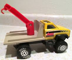 100 Vintage Tonka Truck 4x4 Tow Hook N Load Wrecker Metal EBay