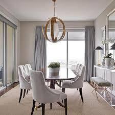 Dining Room Buffet Under Window Design Ideas