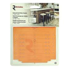 Diy Cabinet Knob Template by Cabinet Hardware Templates Cabinet Accessories The Home Depot