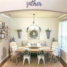 Modern Farmhouse Style Dining Room Design Ideas 1