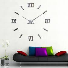 clocks awesome decorative wall clock extra large decorative wall