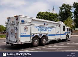 100 Hazmat Truck US Capitol Police Hazardous Materials Response Team Truck Stock