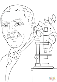 Click The George Washington Carver Coloring Pages To View Printable Version Or Color It Online Compatible With IPad And Android Tablets
