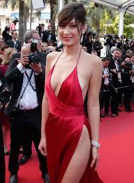 Bella Hadid suffers wardrobe malfunction pics