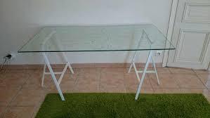 bureau ikea plateau verre bureau verre ikea table bureau buffet table bureau bureau ikea verre