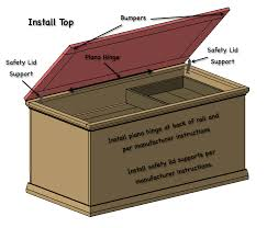 free and easy hope chest plans hope chest toy boxes and storage