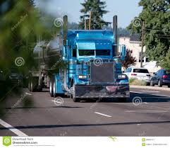 100 Big Blue Trucking Custom Build Monster Rig Semi Truck With Stainless
