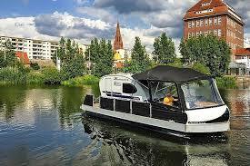 ferienwohnung hausboot auf der peene demmin in verchen kummerower see für 3 personen deutschland