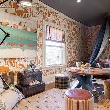 Safari Themed Living Room Ideas by Gray Safari Themed Wallpaper Design Ideas