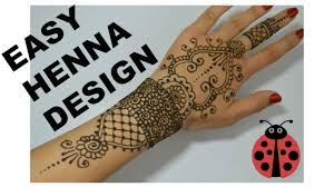 Easy Henna Tattoo Tutorial