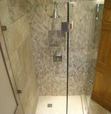 bath remodel from plymouth mn mosaic subway style glass and