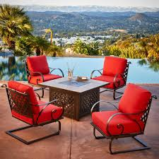 Royal Garden Sienna 5-Piece Metal Patio Fire Pit Conversation Set ... Venice Table With 4 Chairs By Fniture Hom Tommy Bahama Kingstown 5pc Sienna Bistro Ding Set Sale Ends 3piece Occasional Bernards Fniturepick Lexington Home Brands Mercury Row End Reviews Wayfair Grand Masterpiece Royal Extendable Pedestal Room Penlands Ambrosia Terrasienna Round 48 Inch Gathering With Terra Flared Specialt Affordable Tables For Office Industry Outdoor Living Spaces Counter Colors Generations Furnishings