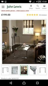 100 John Lewis Hotels New Frost Console Table RRP199