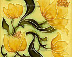 22 original nouveau tile by j c edwards 1907 courtesy of