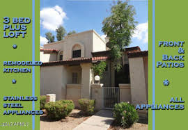 3 Bedroom Townhouses For Rent by Sunridge Patio Homes For Rent Mesa Az