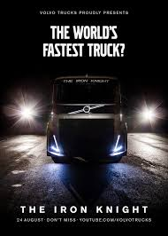 The Iron Knight', Volvo's New Custom-Built Truck Sets Out To Break ... Joint Venture Worlds Faest Modified Diesel Truck Youtube Volkswagen Print Advert By Grabarz Partner Dead Angle 1 Volvo Guns For World Speed Record In 2400 Hp Because It Can Monster Truck Visits Shriners Hospital Hospitals For Raminator Sets At Cota Shockwave Jet Wikipedia Trucks Trailer Aiming The World Speed Record Rd Motsports Land In A Trophy Broken The 10 Pickup To Grace Roads