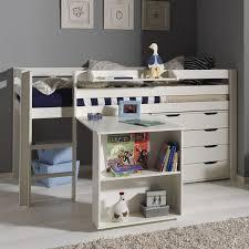 lit enfant bureau pack lit enfant bureau commode 4 tiroirs pino blanc