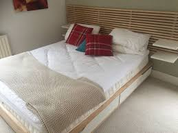 nice headboard ikea mandal bed home design ideas headboard
