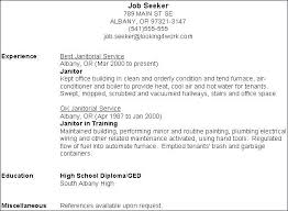 Janitorial Supervisor Resume Sample Janitor Template Valid Lovely Cover