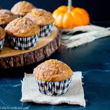 Cake Mix And Pumpkin Muffin Recipe by Cinnamon Sugar Pumpkin Muffins Little Sweet Baker