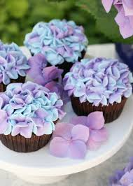 Hydrangea Cupcakesthese Are The BEST Cupcake Ideas