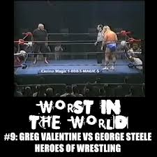 Halloween Havoc 1996 Rant by The Wrestling Section Worst In The World Greg Valentine Vs