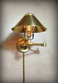 buy handmade adjustable articulating wall mount light in