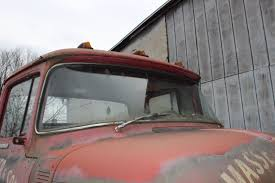 Antique 1956 Ford C-500 Cab Over Stub Nose Truck All Original