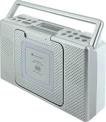 splashproof bathroom cd mp3 radio