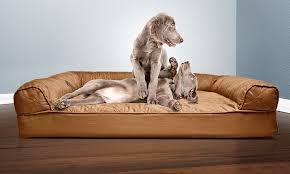 76% f on Sofa Style Orthopedic Pet Bed