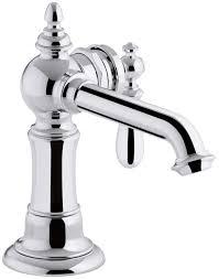 kohler k 72762 9m bn artifacts single handle bathroom sink faucet
