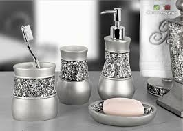 Purple Crackle Glass Bathroom Accessories by Amazon Com Creative Scents Brushed Nickel Bathroom Accessories