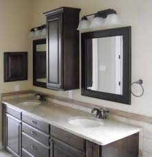 Bathroom Vanity With Tower Pictures by Savvy Bathroom Vanity Storage Ideas Floor Cabinets Pictures