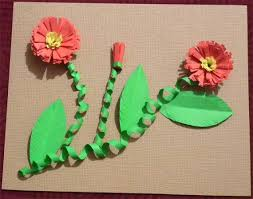 Paper Crafts To Make At Home Craft Making Greeting Cards Mothers Day For Kids Decor