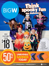 Kmart Halloween Decorations Australia by Big W Catalogue Halloween Treats And Costumes 2015