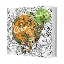 Huta Paint Adult Coloring Book Color Of Wild Life By Ranggi Ariliah Buku Arts