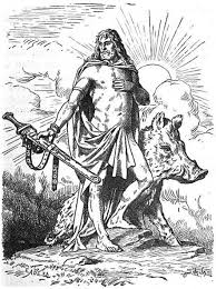 Freyr And His Wild Boar Another One Of The