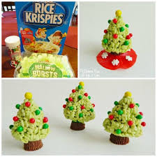 Rice Krispie Christmas Tree Pops by 60 Of The Best Christmas Treats Kitchen Fun With My 3 Sons