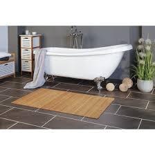 hochwertiger bambus bambusteppich für dusche bad und wc i