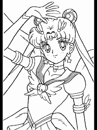 Coloring Books Sailor Moon Pages New At Concept Animal